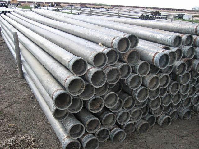 Solid Aluminum Pipe : Used equipment